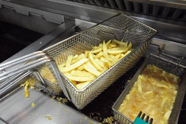Fish and chip shop fryer