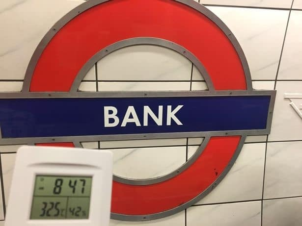 London Underground Bank station