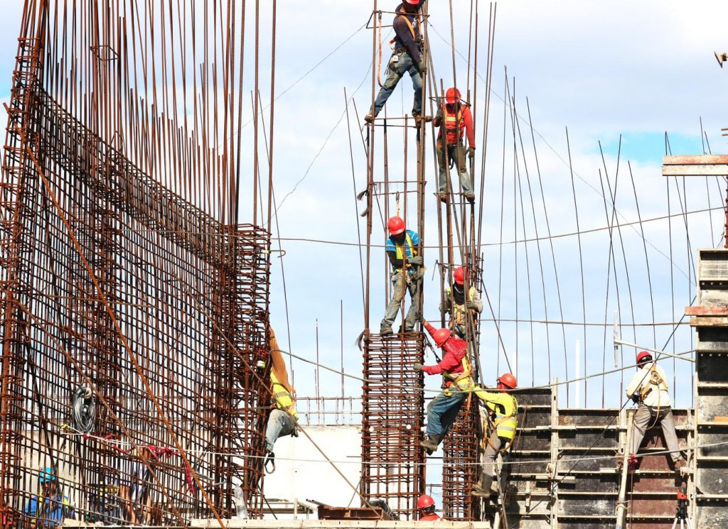 Construction workers dangerous